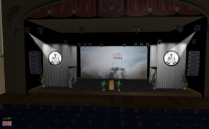 3D Rendering of the Stage Setup