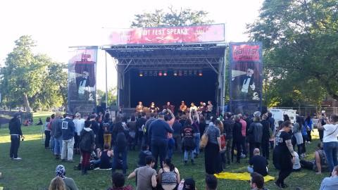 Riot Fest Speaks Stage